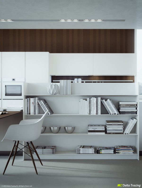 16 kitchen book shelf
