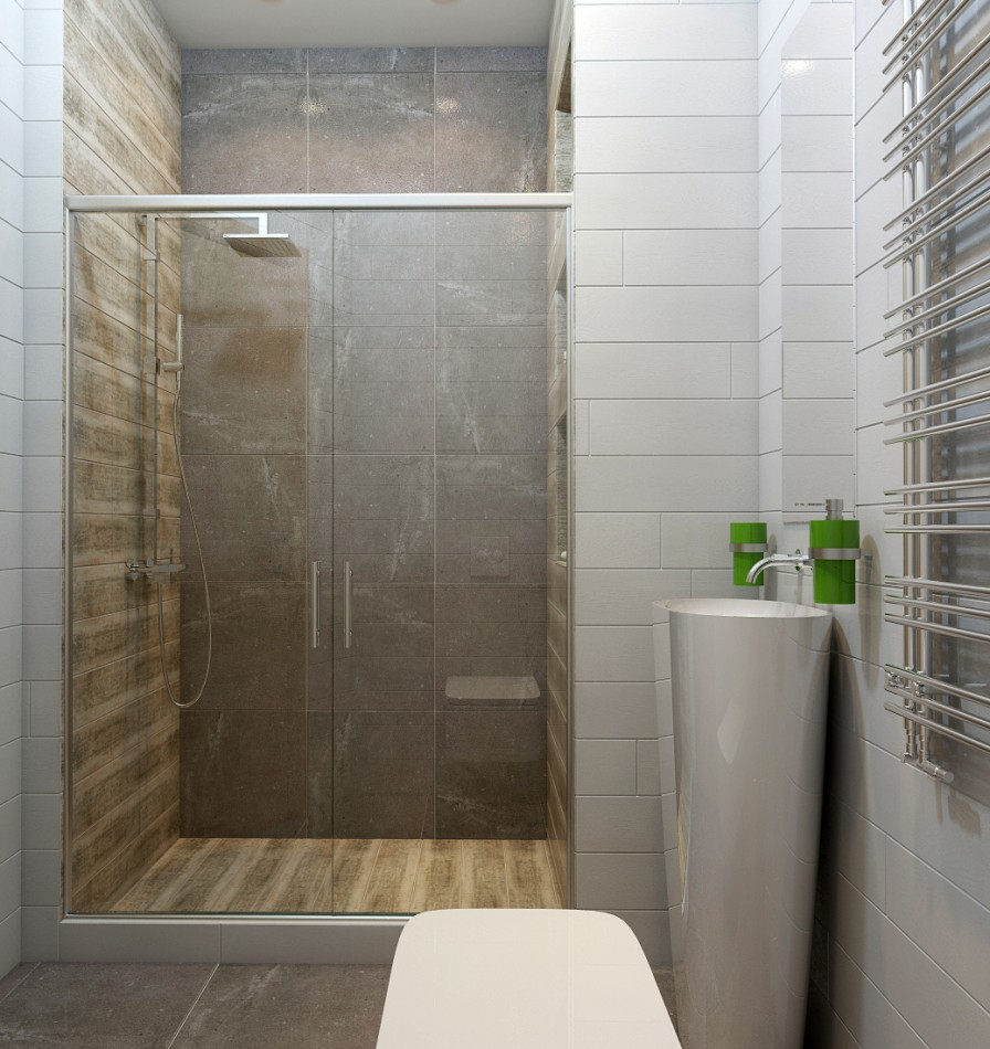 Build In Bathroom Design : Built in shower interior design ideas