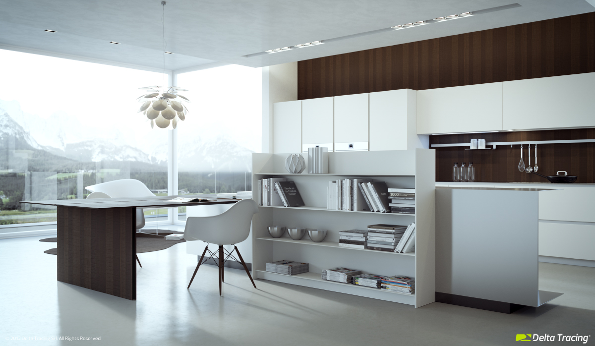 Beautiful Kitchen - Kitchen layouts and lovely lighting