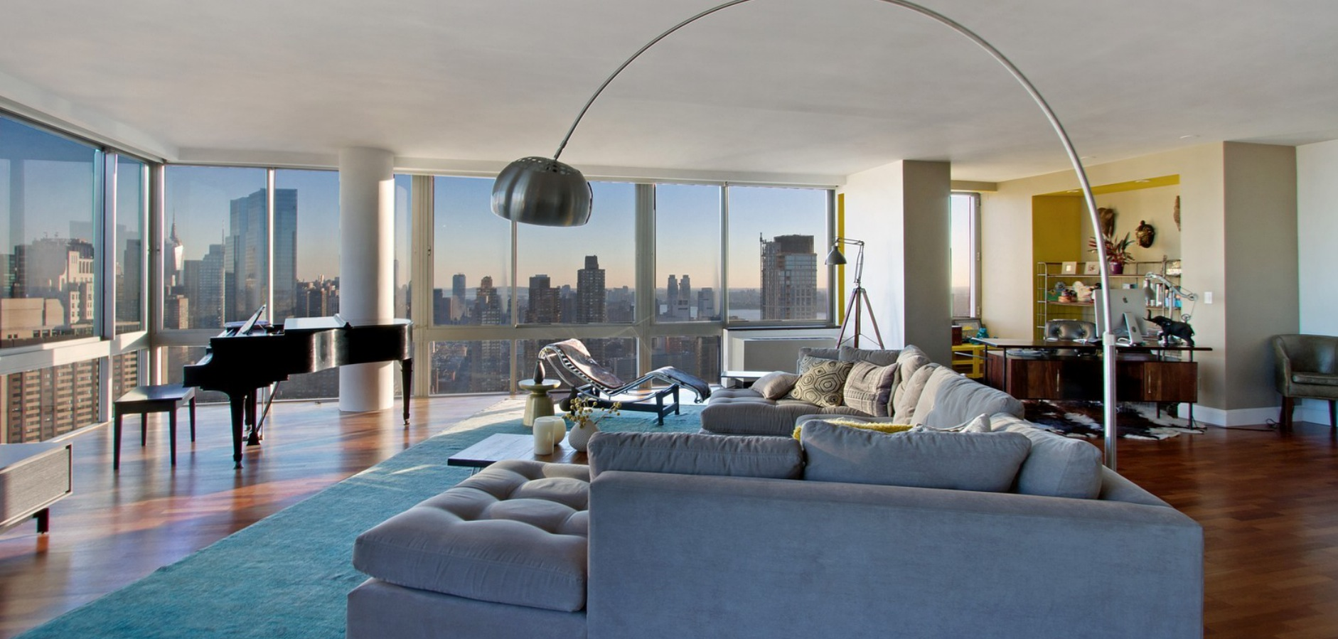 10 super pricey apartments in new york for Casas de lujo
