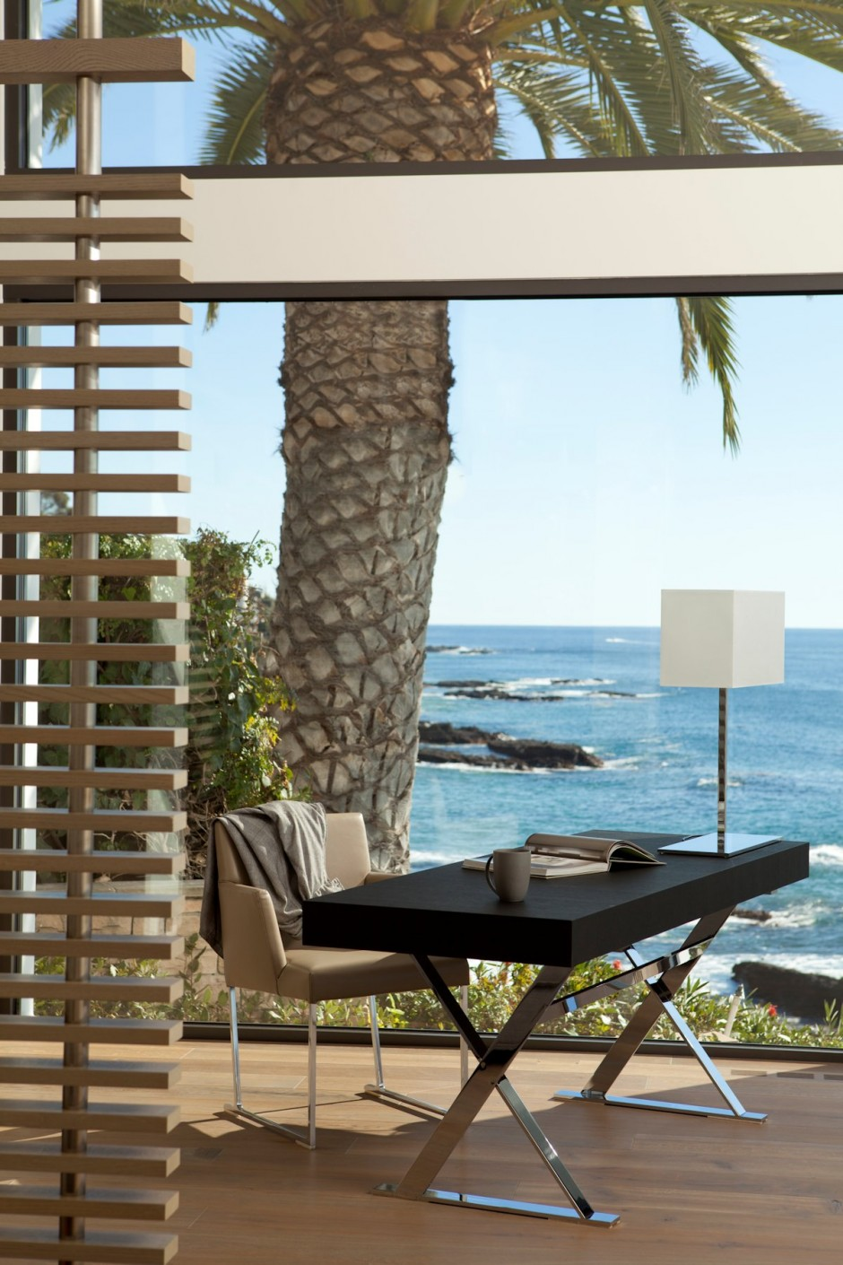 Home Office Furniture - Oceanfront house with pool california
