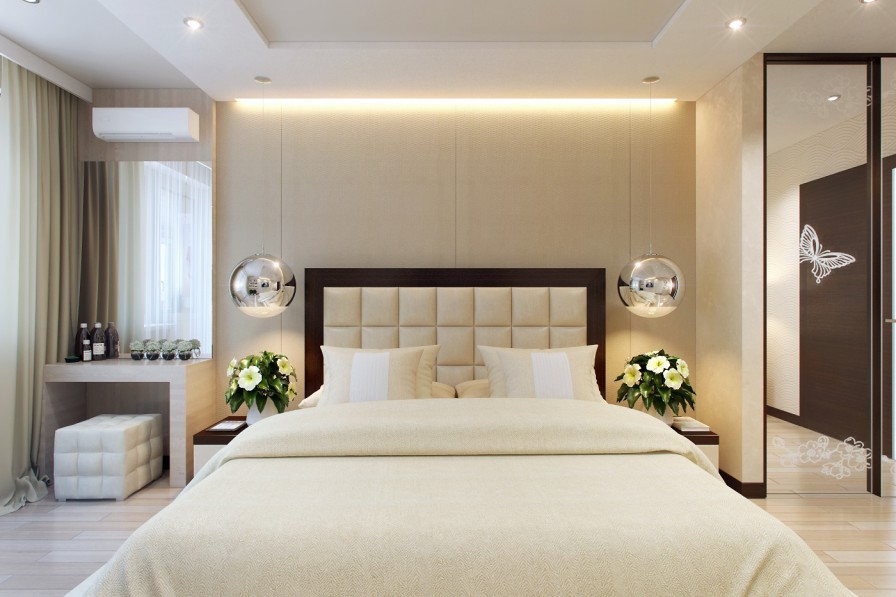Sophisticated bedroom decor | Interior Design Ideas.