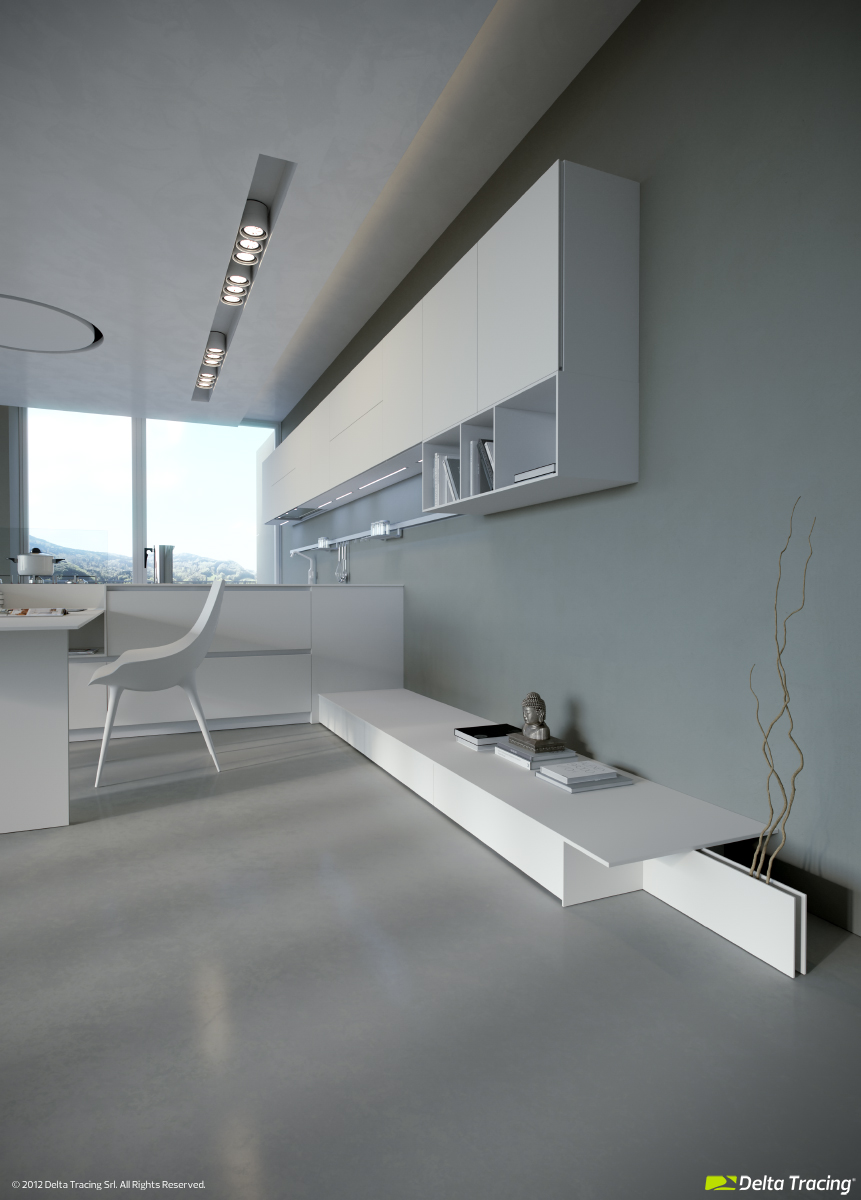 Kitchen Wall Untis - Kitchen layouts and lovely lighting