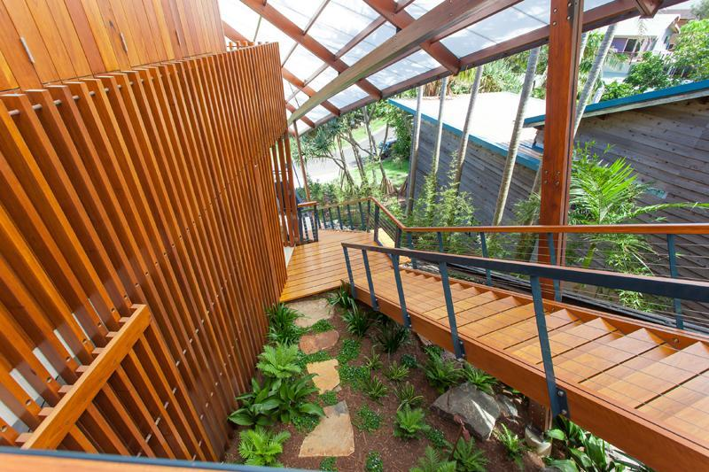 Exterior Staircase - The wing house australia