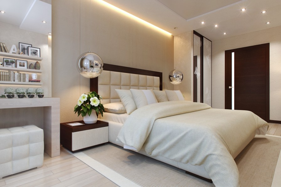 Sophisticated bedroom layout Interior Design Ideas. Modern Bedroom Layouts