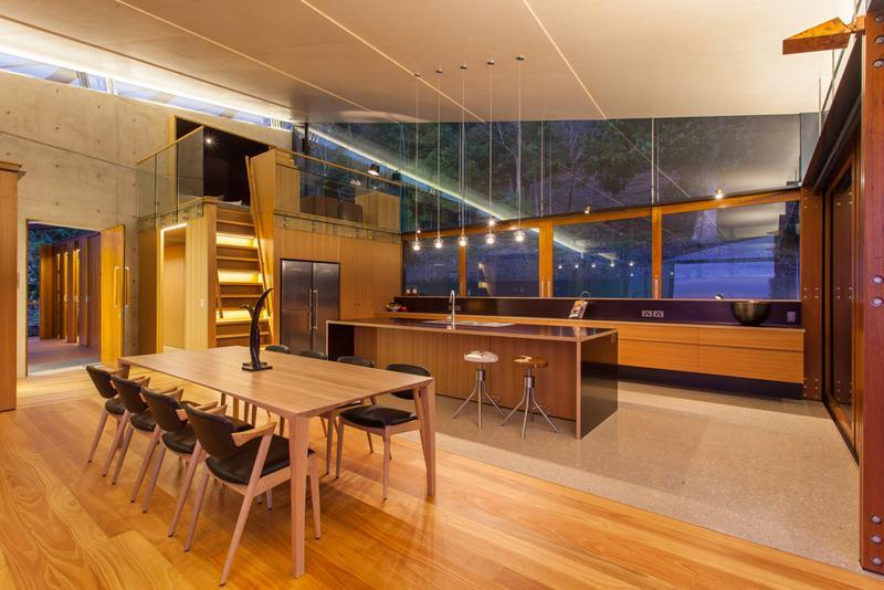 Modern Kitchen Diner - The wing house australia