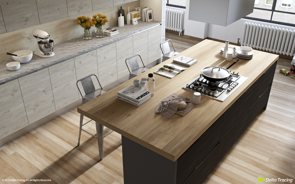 Beautiful Kitchen Islands - Kitchen layouts and lovely lighting
