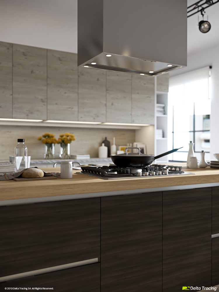 Kitchen Islands - Kitchen layouts and lovely lighting