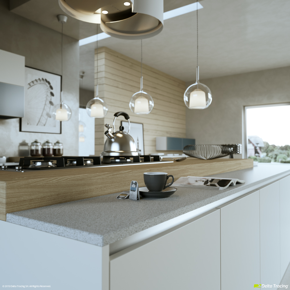 Beautiful Male Kitchens - Kitchen layouts and lovely lighting