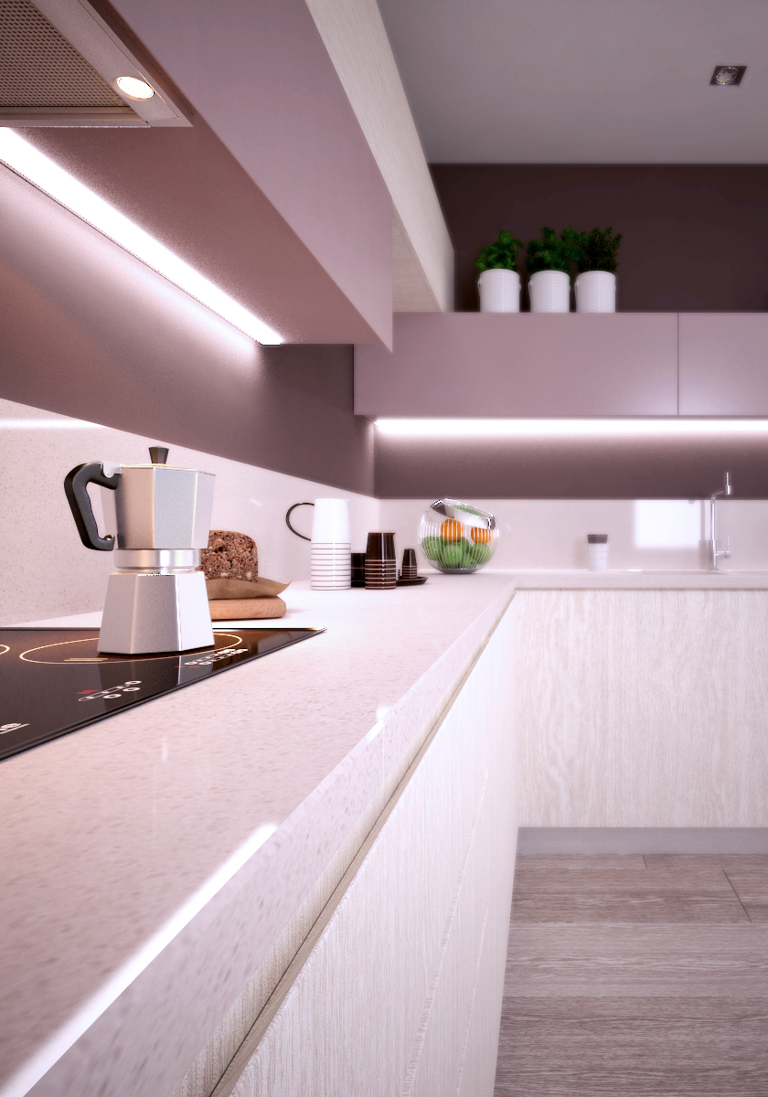 Modern Kitchen Design - Small apartments