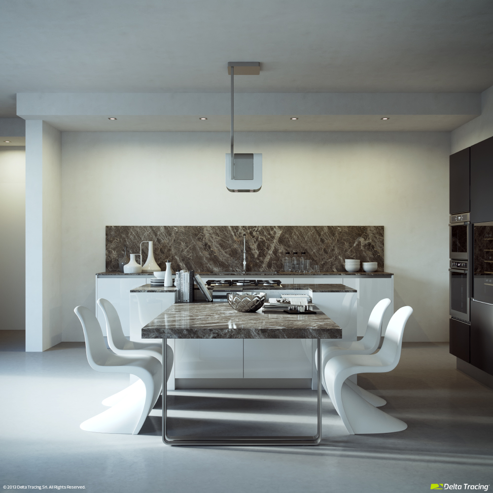 Kitchen Dining - Kitchen layouts and lovely lighting