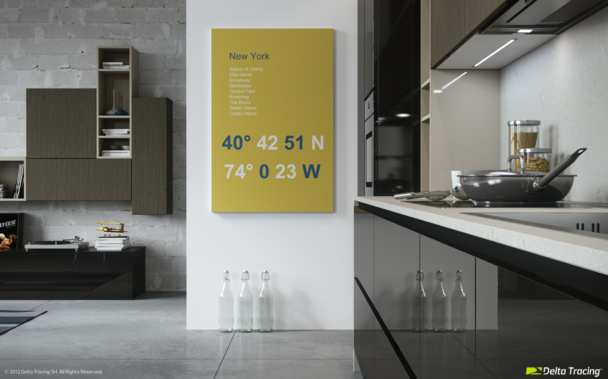 Kitchen Wall Art - Kitchen layouts and lovely lighting