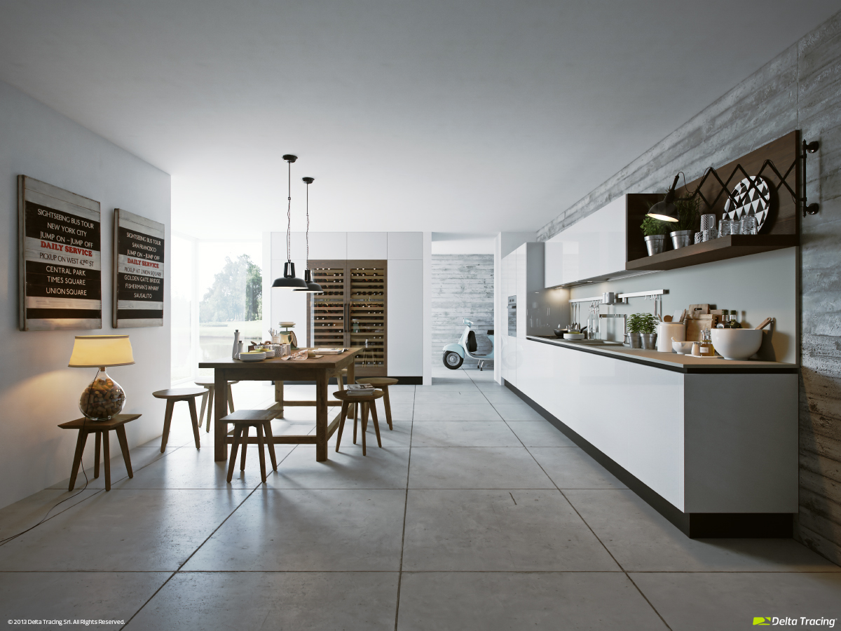Super Stylish Kitchen - Kitchen layouts and lovely lighting