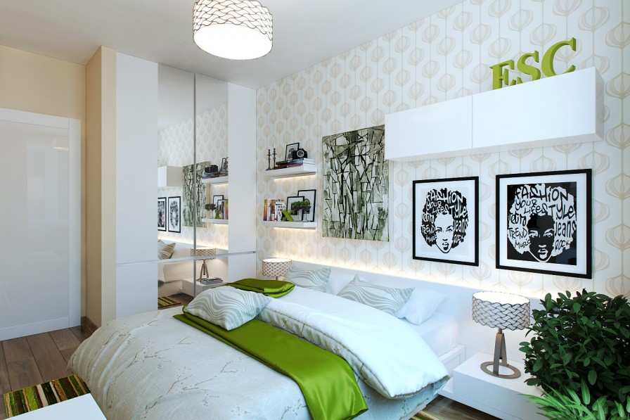 modern bedroom green. Like Architecture \u0026 Interior Design? Follow Us.. Modern Bedroom Green