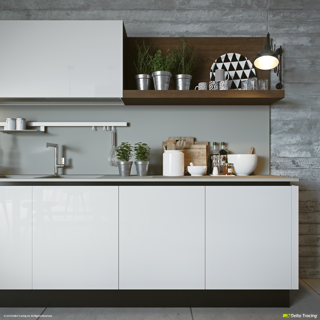 Kitchen Shelf Items - Kitchen layouts and lovely lighting