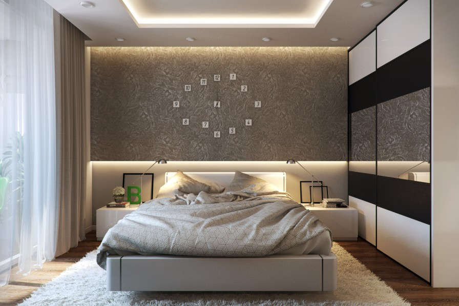 Brilliant bedroom designs for Chambre a coucher moderne design