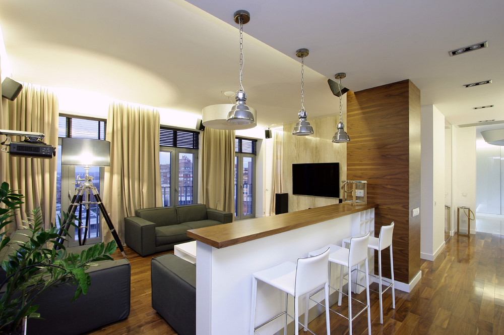 Apartment bar space: how to organize a small apartment. small ...