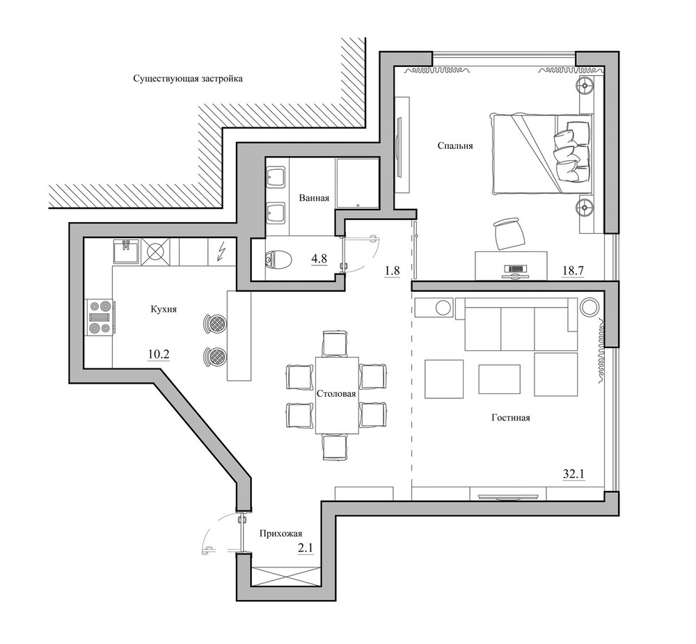 Home plan interior design ideas for Room design and layout