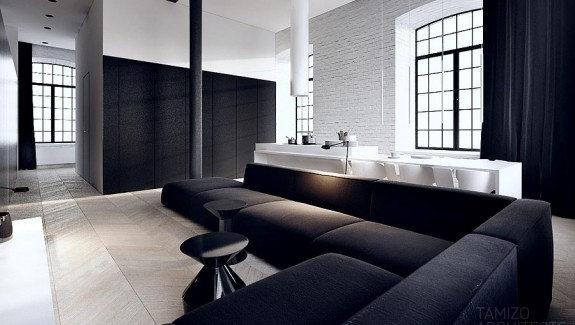 Interior Design In Black & White