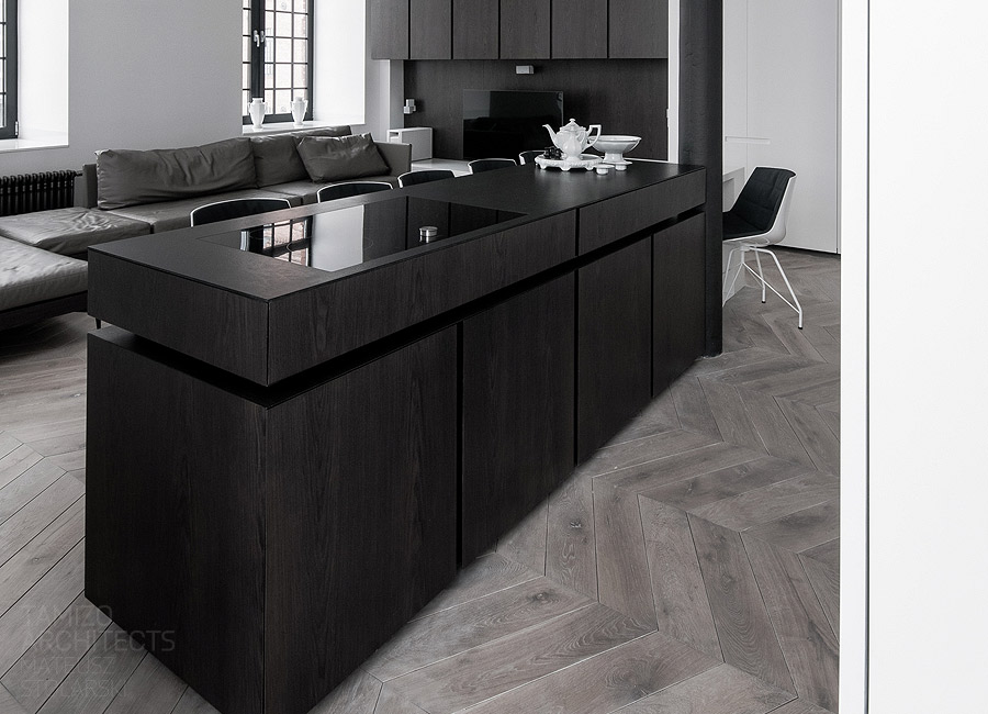 Leather Sofa Black Kitchen Island