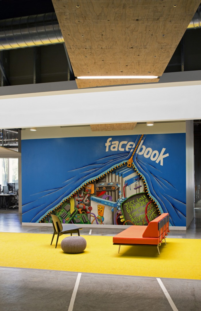 Facebook 39 S Menlo Park Campus Interiors