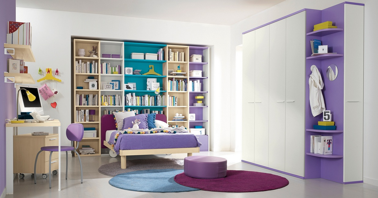 Modern Kids Bedroom Girls modern kid's bedroom design ideas