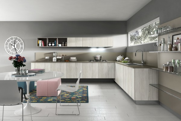 Gray kitchen decor