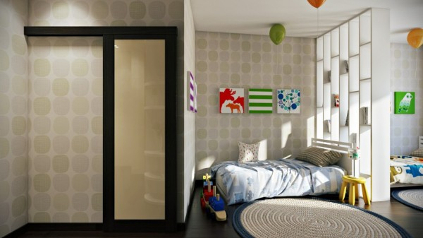 Kids bedroom scheme