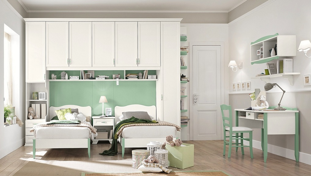 Modern Bedroom Green modern kid's bedroom design ideas