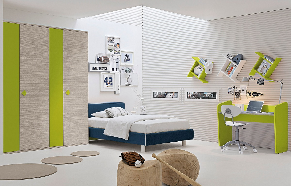 White and green bedroom - White And Green Bedroom 43