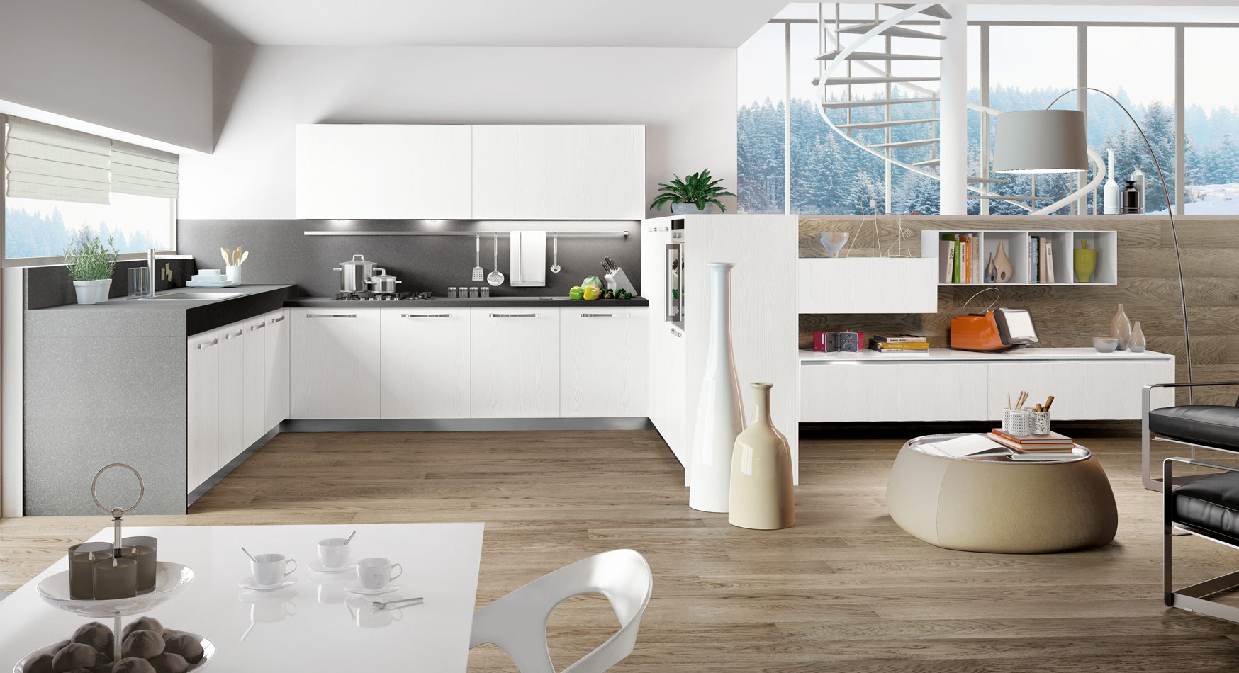 White Kitchen Design 2014 kitchen designs that pop