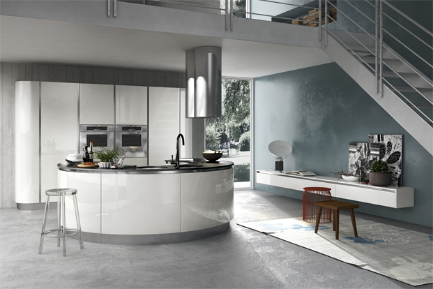High Quality A Circular Kitchen Design Carries Wow Factor Though Can Prove Quite A  Challenge To Fit Into A Regular Kitchen Space. Part 30