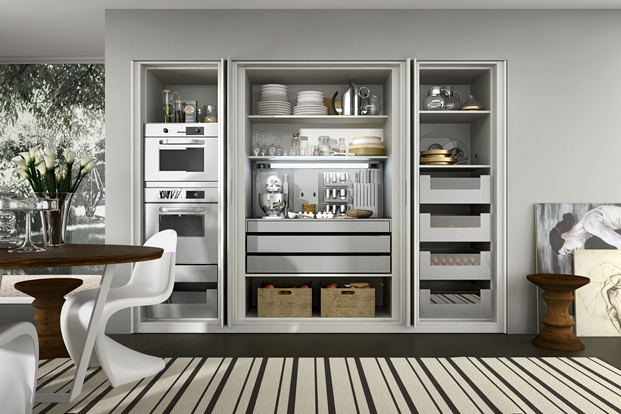 Concealed Kitchen - Kitchen designs with unusual choices