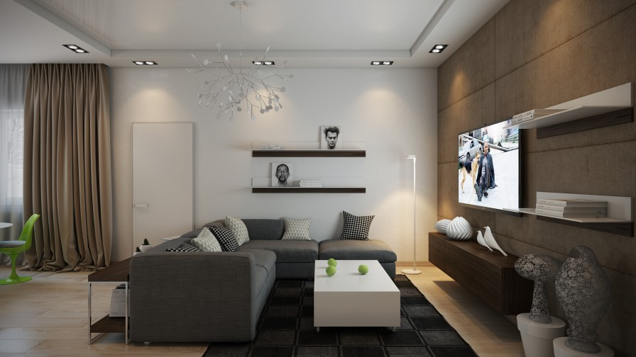 Modern living room | Interior Design Ideas.