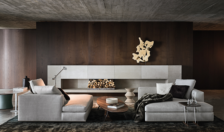 Contemporary Lounge - Atmospheric room designs