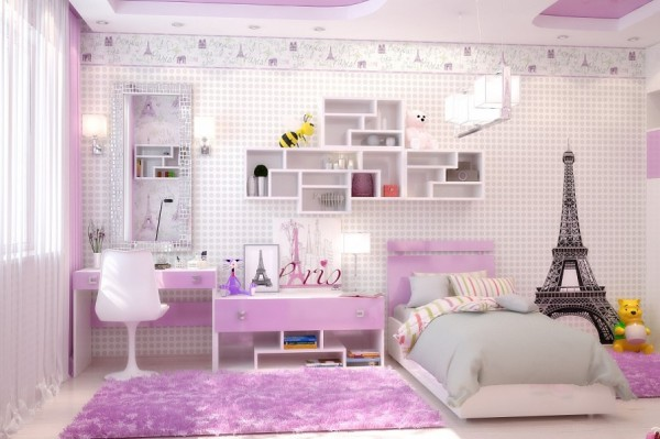 Parisian kids room