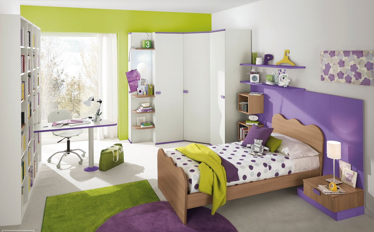 Girls Bedroom Green modern kid's bedroom design ideas