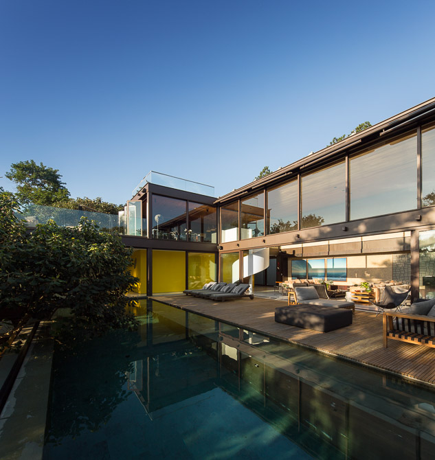 Contemporary Exterior - Sunny open plan limantos residence