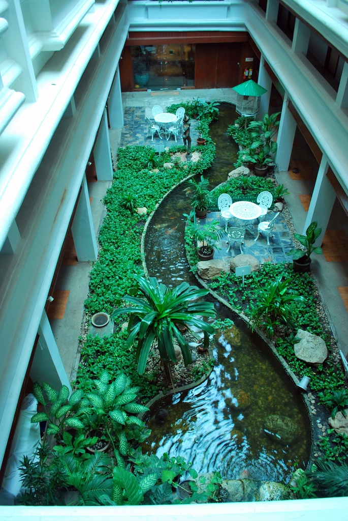 Indoor garden ideas for Interior landscape design