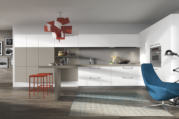 Red Light - Kitchen designs with unusual choices