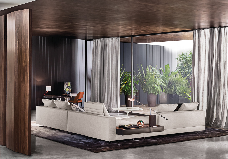 Contemporary Sofa Design - Atmospheric room designs