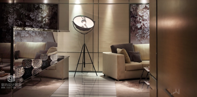Standing Lamp - Sophisticated home with asian tone