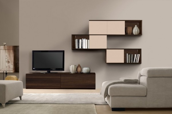 Living Room Bookshelves 24