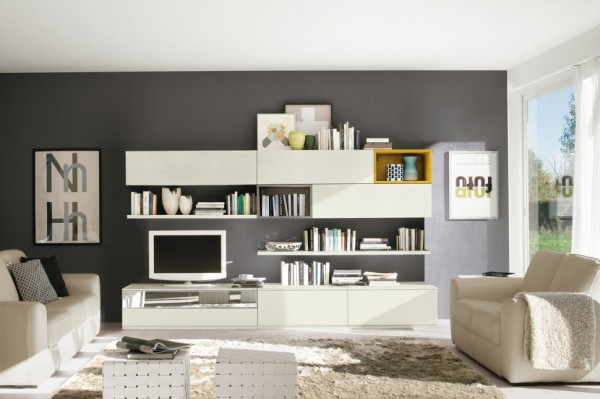 Living Room Bookshelves 44