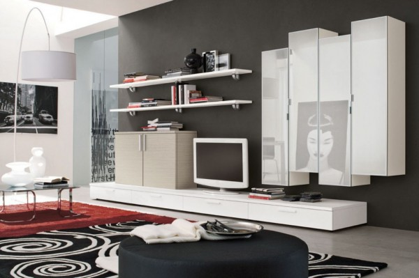 Modern Living Room Wall Units With Storage Inspiration Interesting Living Room Cupboard Designs