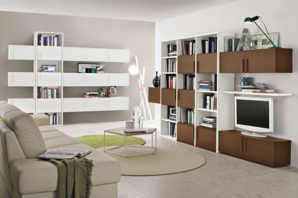 Living Room Bookshelves 62