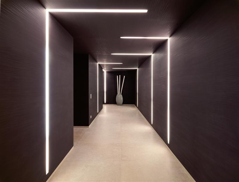 Corridor Lighting Interior Design Ideas