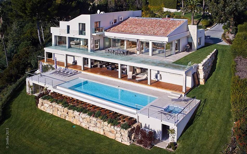 Luxury Home - Cote d azur villa with spectacular sea views