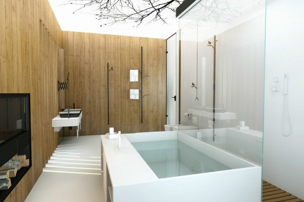 Chic bath tub