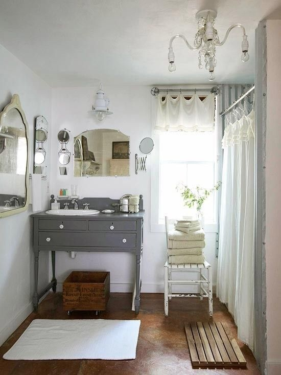 Bathroom vanity ideas for Vintage bathroom designs
